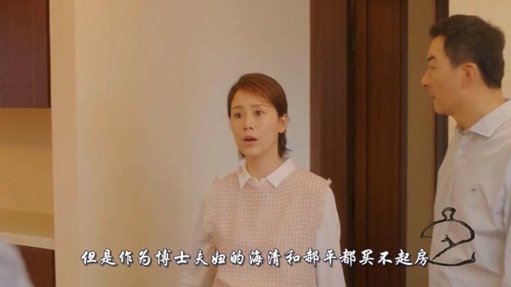 安家:時隔10年后,海清和郝平再現買房,但劇情脫離現實!