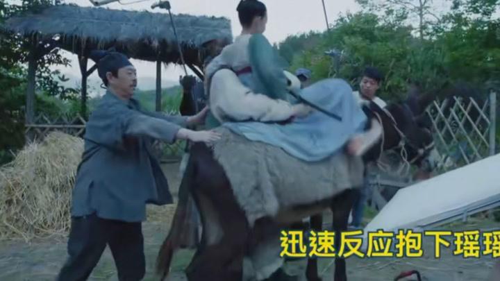 無心法師3花絮:陳瑤、韓東君和驢搭戲,騎驢看唱本