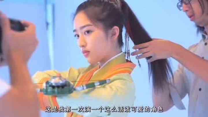 【鄧恩熙】《天醒之路》海報拍攝花絮:小熙第一次演古裝
