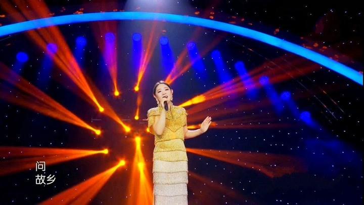 王靜演唱鄧麗君70年代經典歌曲《小村之戀》超清現場版