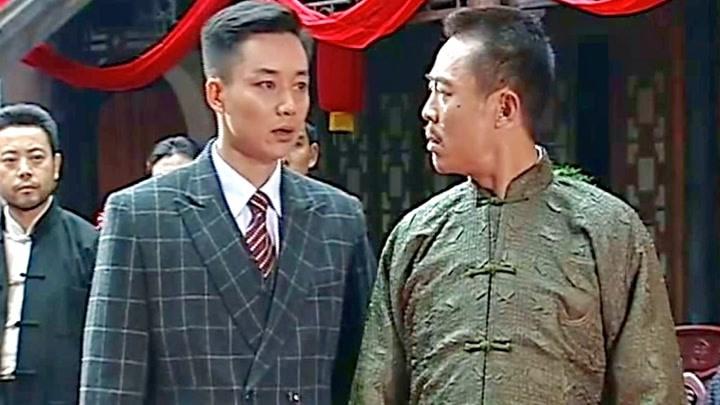 陳六子濟南染廠開業之際,黑老大來訛錢,卻不知六哥有后手!