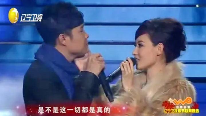 張柏芝、小沈陽演唱《愛上你了》:這旋律太有幸福感了!好聽