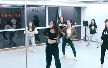 【遇见舞蹈】爵士舞课堂随拍