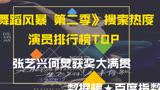 《舞蹈風暴 第二季》演員熱搜榜,張藝興何炅獲獎大滿貫,排名你認可么?萌新不做標題黨!