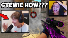 【CSGO】SWAG COULDN'T BELIEVE STEWIE2K HIT THIS! S1MPLE CLEAN AIM! CS:GO Twitch C
