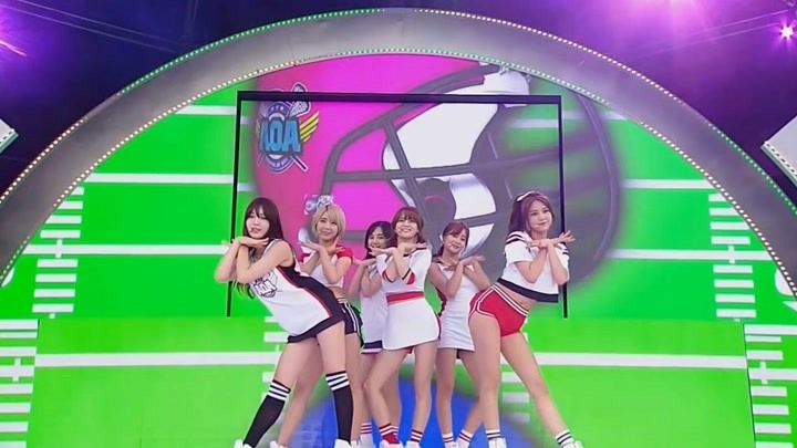 【中韩双字】耳朵变得红通通!150709 AOA - Heart Attack Mnet Japan M!Countdown
